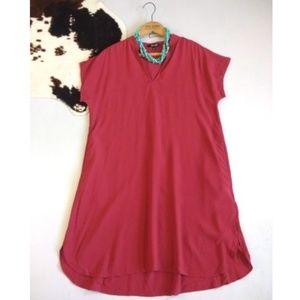 Madewell Bicoastal dress in Crimson, size XS